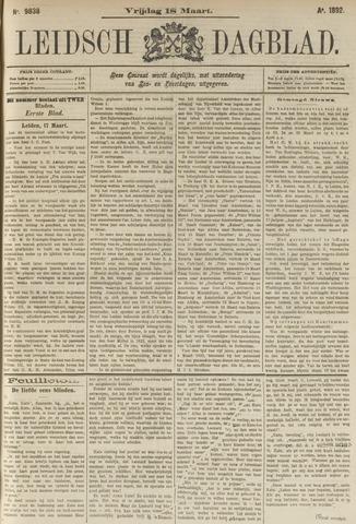 Leidsch Dagblad 1892-03-18