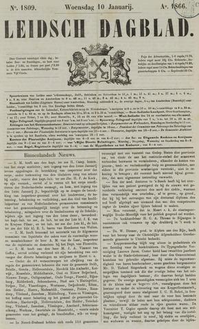 Leidsch Dagblad 1866-01-10