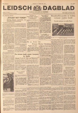 Leidsch Dagblad 1947-02-21