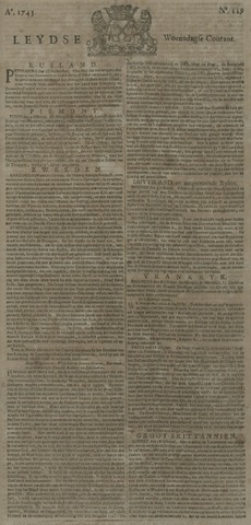 Leydse Courant 1743-10-23