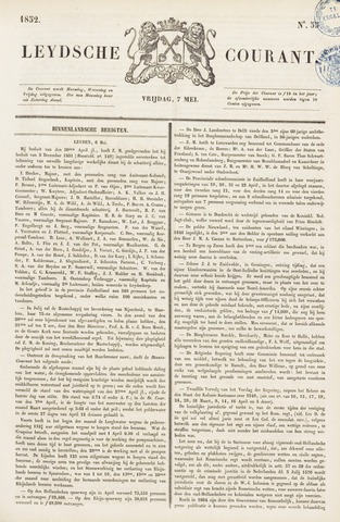 Leydse Courant 1852-05-07