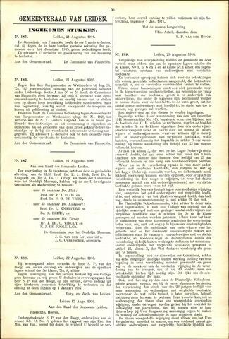 Handelingen van de Raad 1916-08-21