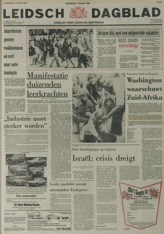 Leidsch Dagblad 1980-06-19