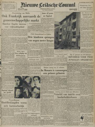 Nieuwe Leidsche Courant 1957-01-23