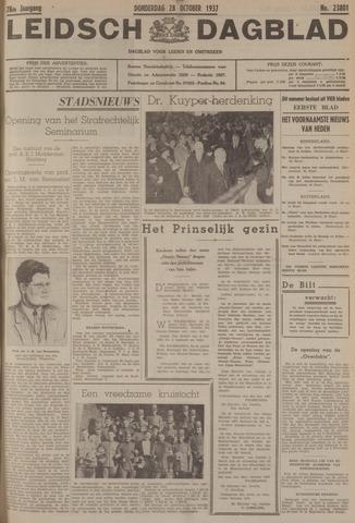 Leidsch Dagblad 1937-10-28