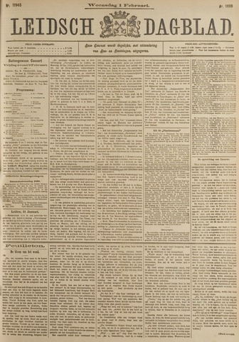 Leidsch Dagblad 1899-02-01