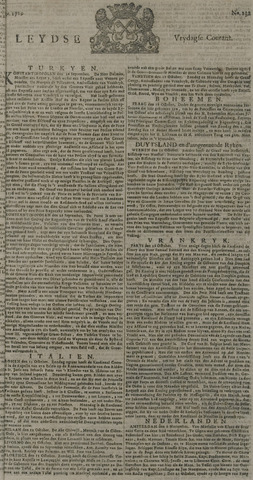 Leydse Courant 1729-11-04