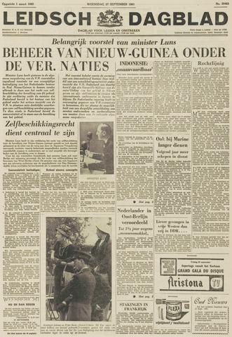 Leidsch Dagblad 1961-09-27