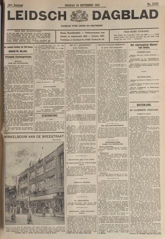 Leidsch Dagblad 1933-09-29