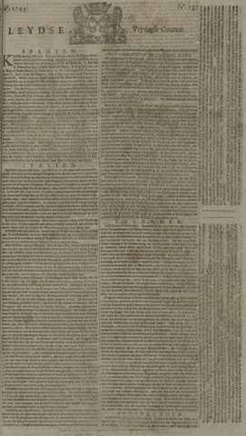 Leydse Courant 1743-11-15