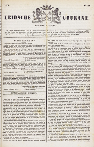 Leydse Courant 1879-01-28