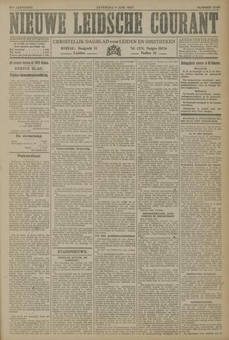 Nieuwe Leidsche Courant 1927-06-04