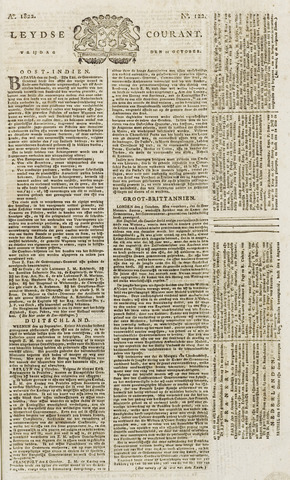 Leydse Courant 1822-10-11