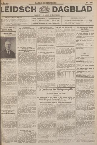 Leidsch Dagblad 1930-02-10