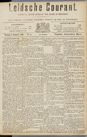 Leydse Courant 1890-01-03