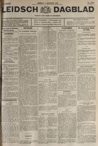 Leidsch Dagblad 1933-08-08