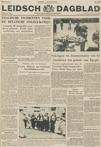 Leidsch Dagblad 1956-08-14