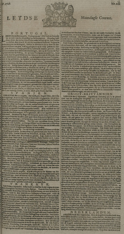 Leydse Courant 1726-09-09