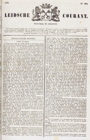 Leydse Courant 1876-08-30