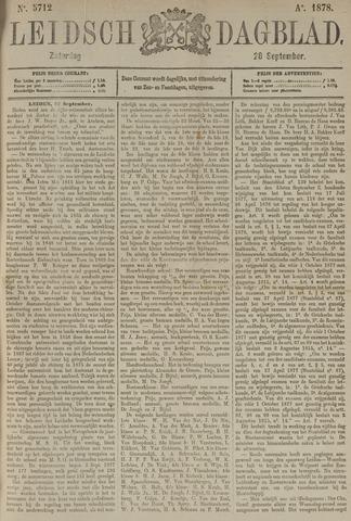 Leidsch Dagblad 1878-09-28