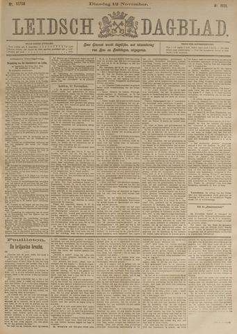 Leidsch Dagblad 1901-11-12