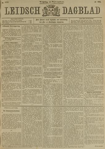 Leidsch Dagblad 1904-11-04