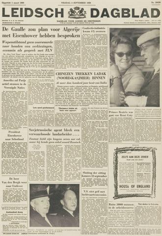 Leidsch Dagblad 1959-09-04