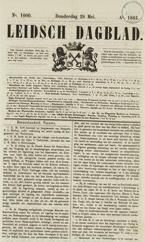 Leidsch Dagblad 1863-05-28