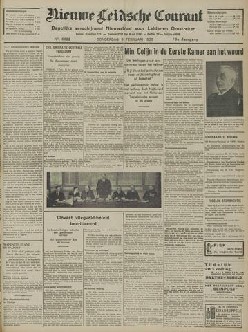 Nieuwe Leidsche Courant 1939-02-09