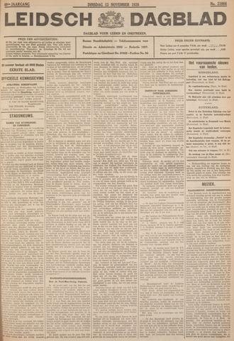 Leidsch Dagblad 1928-11-13