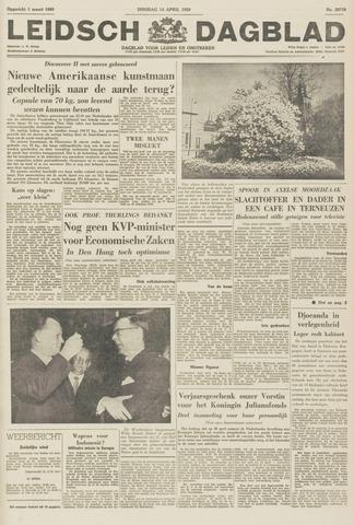 Leidsch Dagblad 1959-04-14