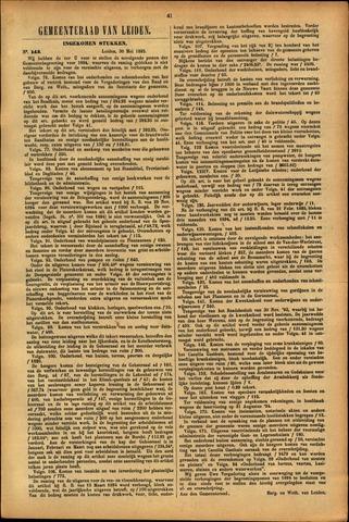 Handelingen van de Raad 1895-05-30