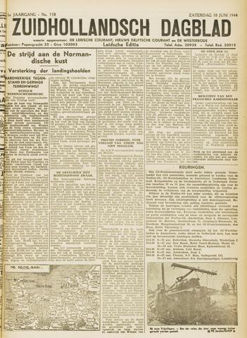 Zuidhollandsch Dagblad 1944-06-10