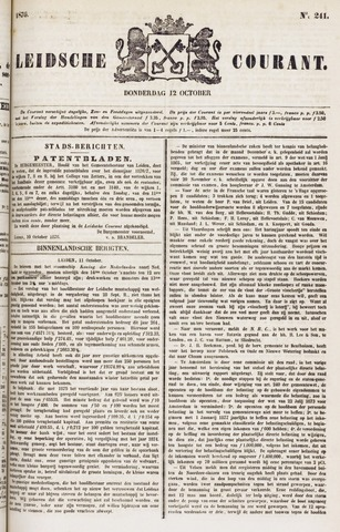 Leydse Courant 1876-10-12