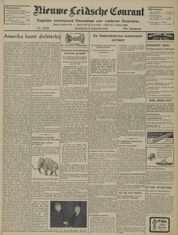 Nieuwe Leidsche Courant 1939-01-09