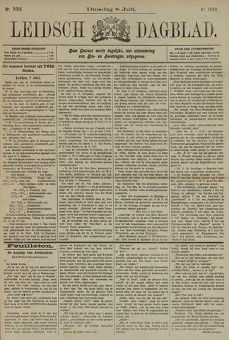 Leidsch Dagblad 1890-07-08