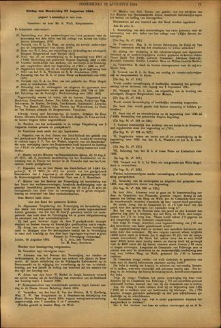 Handelingen van de Raad 1894-08-23