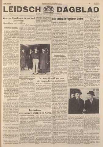 Leidsch Dagblad 1951-01-11