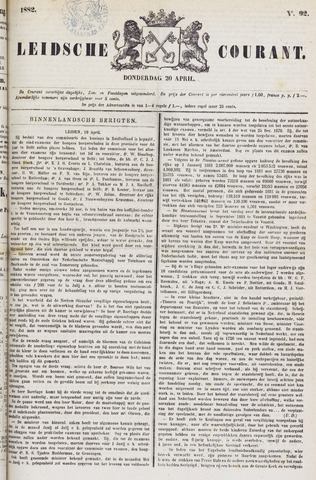 Leydse Courant 1882-04-20