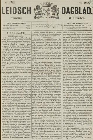 Leidsch Dagblad 1868-12-23