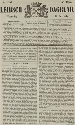 Leidsch Dagblad 1867-11-13