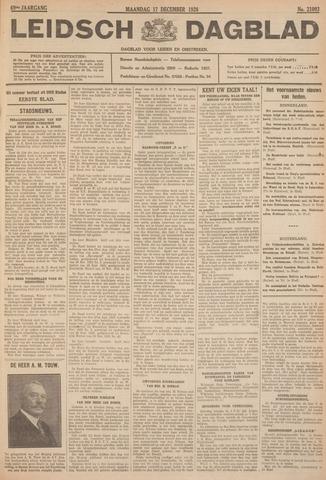 Leidsch Dagblad 1928-12-17