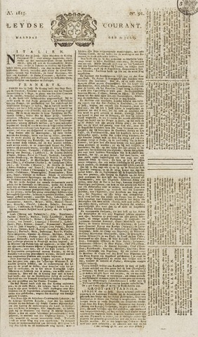 Leydse Courant 1815-07-31