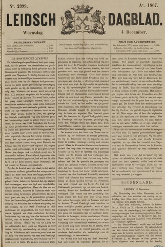 Leidsch Dagblad 1867-12-04