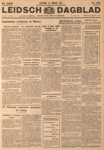 Leidsch Dagblad 1942-01-24