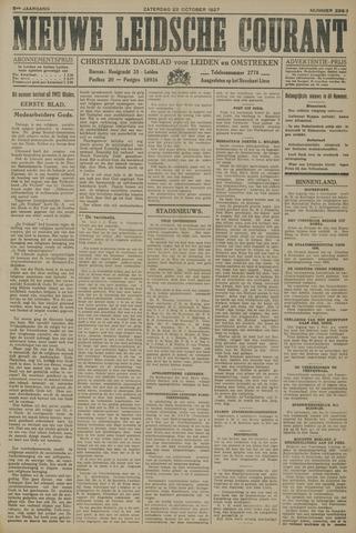 Nieuwe Leidsche Courant 1927-10-22