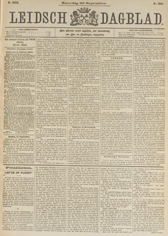Leidsch Dagblad 1894-09-29