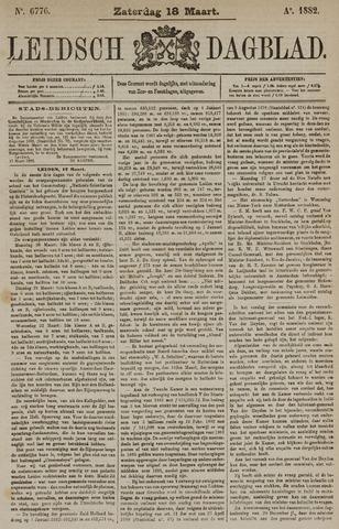 Leidsch Dagblad 1882-03-18