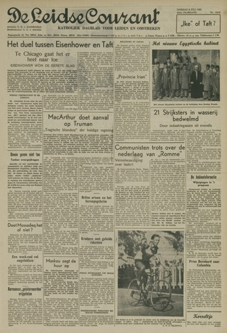 Leidse Courant 1952-07-08