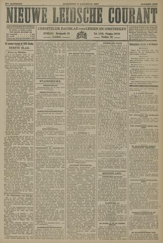 Nieuwe Leidsche Courant 1927-08-03